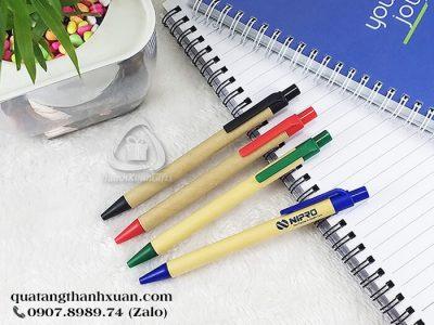 Bút Bi Giấy Quảng Cáo Ngòi Bấm - EC2427A
