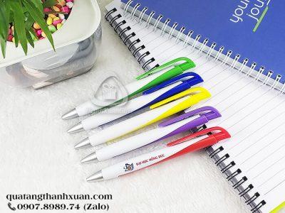 Bút Bi Nhựa Quảng Cáo Ngòi Bấm - AP208