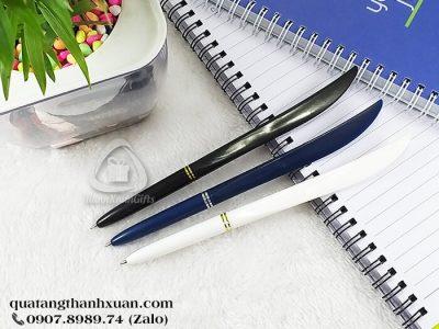 Bút Bi Nhựa Quảng Cáo Kiểu Cán Dao