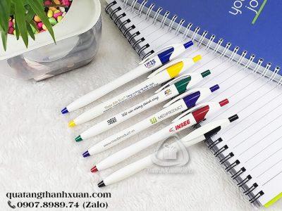 Bút Bi Nhựa Quảng Cáo Ngòi Bấm - BP521