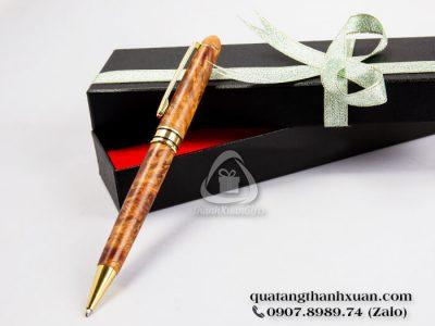 Bút Gỗ Huyết Long Kiểu Xoay Sang Trọng - GHL01