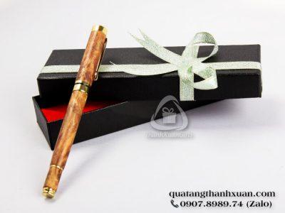 Bút Gỗ Huyết Long Nắp Rời Sang Trọng - GHL01N