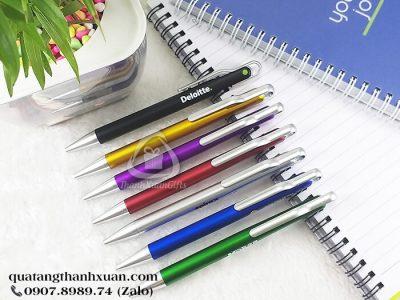 Bút Nhựa Xi Quảng Cáo Ngòi Bấm - AP0723