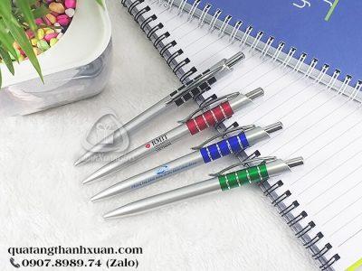 Bút Nhựa Xi Quảng Cáo Ngòi Bấm - BP3810A