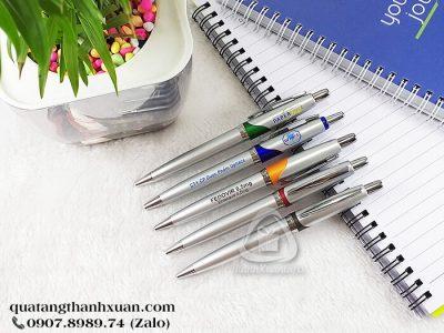 Bút Nhựa Xi Quảng Cáo Ngòi Bấm - BP535