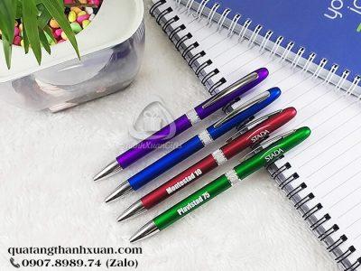 Bút Nhựa Xi Quảng Cáo Ngòi Xoay - BP321