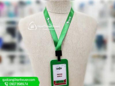 Dây Đeo Thẻ Móc Dẹp Nhựa Đen - DD05