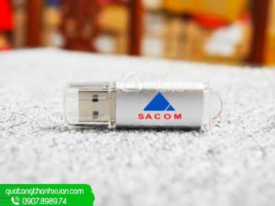 USB Kim Loại Nắp Rời Trong Suốt - UKL09