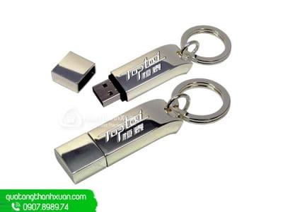 USB Kim Loại Thân Cong Nắp Rời - UKL04
