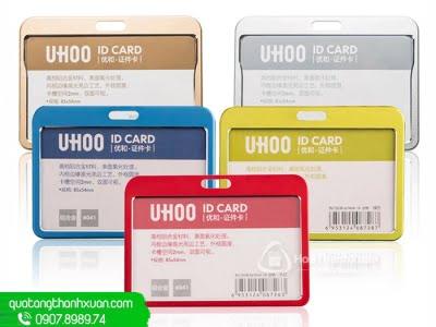 Bao Đựng Thẻ Kim Loại 2 Mặt - UHOO 6041