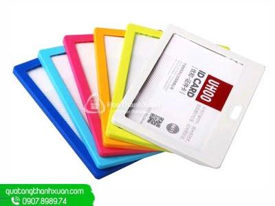 Bao Đựng Thẻ Nhựa 2 Mặt - UHOO 6611