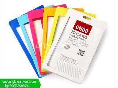 Bao Đựng Thẻ Nhựa 2 Mặt - UHOO 6612